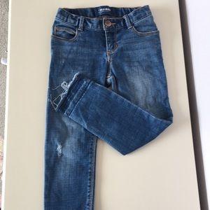 Old Navy Skinny Distressed Jeans